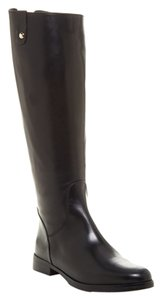 Charles David Leather Black Boots