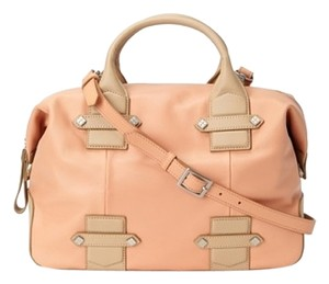 Allibelle Beltway Satchel in Peach