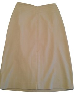 The Limited Chanel Prada Skirt Ivory