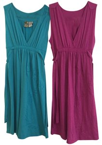 Billabong short dress Teal and Purple on Tradesy