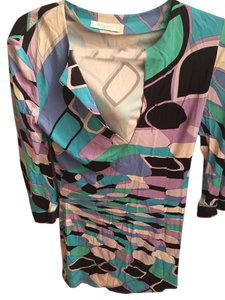 Emilio Pucci short dress multi colored on Tradesy