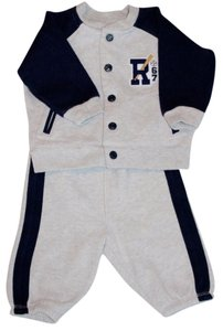 Ralph Lauren Polo Boy Infants Baby New With Tags Jacket Sweatpants Fall Winter Dress