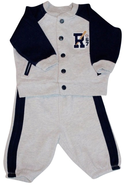 Ralph Lauren Polo Boy Infants Baby New With Tags Jacket Sweatpants Fall Winter Dress Image 0