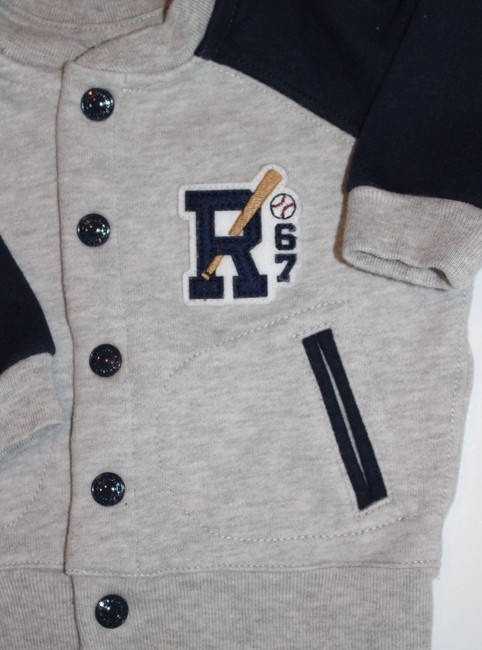 Ralph Lauren Polo Boy Infants Baby New With Tags Jacket Sweatpants Fall Winter Dress Image 1
