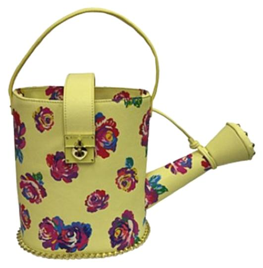 Betsey Johnson Tote In Yellow Fl