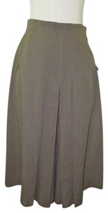 Max Mara Skirt Gray, Olive