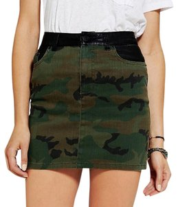 Urban Outfitters Mini Skirt Camo