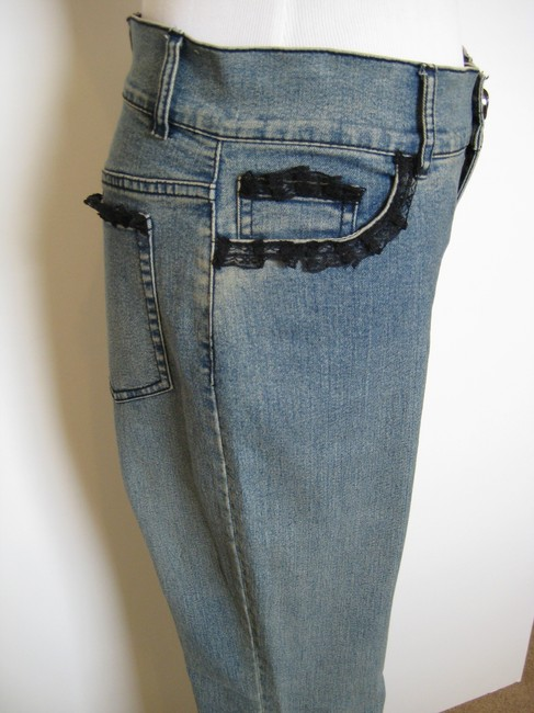 Anev Boot Cut Jeans-Light Wash