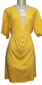 PACO CHICANO by Christian Audigier short dress YELLOW on Tradesy