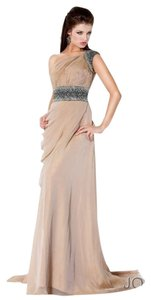 Jovani Sexy Prom Cruise Studded Dress