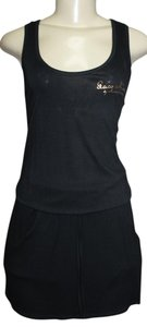 PACO CHICANO short dress BLACK on Tradesy