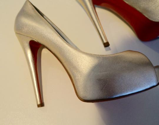 Christian Louboutin Wedding Bridal Metallic Platine (Soft Gold) Pumps