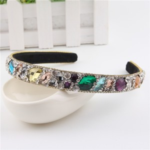 Gem Colored Crystal Headband