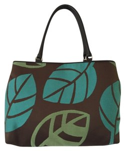 Talbots Tote in Green Blue