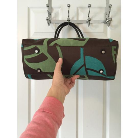Talbots Tote in Green Blue Image 3