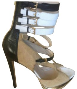 Nicholas Kirkwood Tan,beige,white,black Sandals