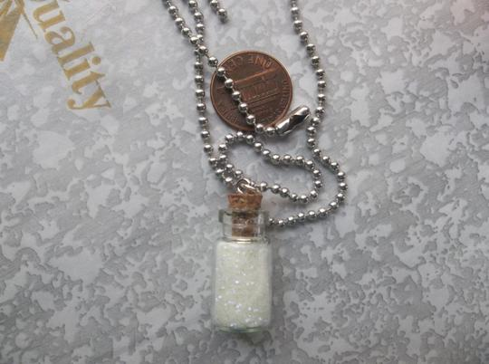 Other Magical Pixie Fairy Dust Sand Glow In The Dark Charm Glass Bottle Necklace