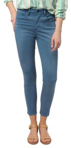 Levi's Urban Outfitters High Waisted High Rise Cropped Skinny Jeans