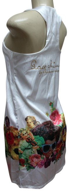 PACO CHICANO by Christian Audigier short dress WHITE on Tradesy