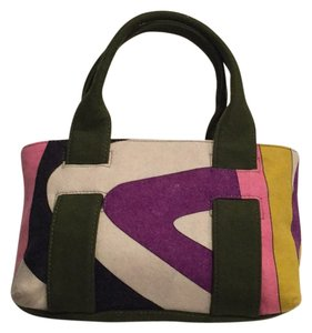 Emilio Pucci Satchel in Multi-colored