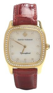 David Yurman David Yurman 18k Gold and Diamond Thoroughbred Watch
