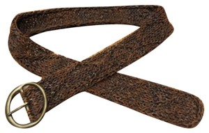Abercrombie & Fitch Woven Leather Belt