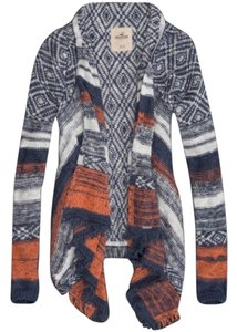 Hollister Tribal Boho Fall Winter Sweater