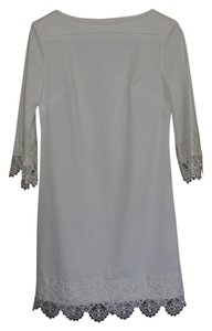 ECI New York White Ivory Dress