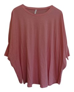 Gaiam Slouchy Top coral