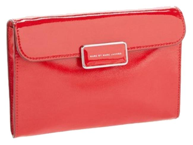 Item - Shoulder Clutch Chain New With Red Patent Leather Cross Body Bag