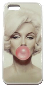 unknown Marilyn Monroe Hard Cover Case White iPhone 5 NWOT