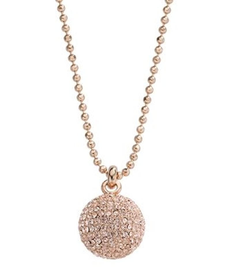 Michael kors rose gold necklace 68 off michael kors for Michael b jewelry death