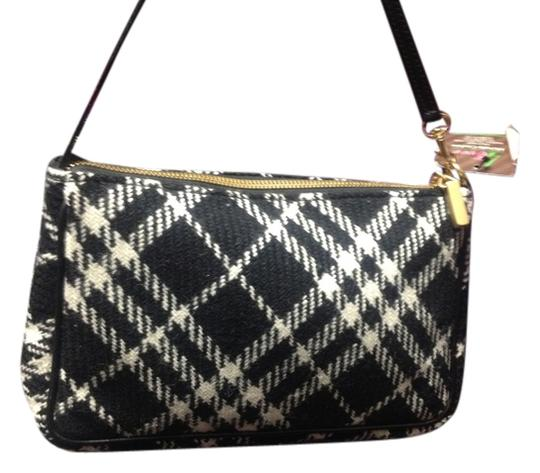 Burberry Wristlet in Black & White