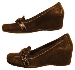 Marc Fisher Chocolate Brown Wedges