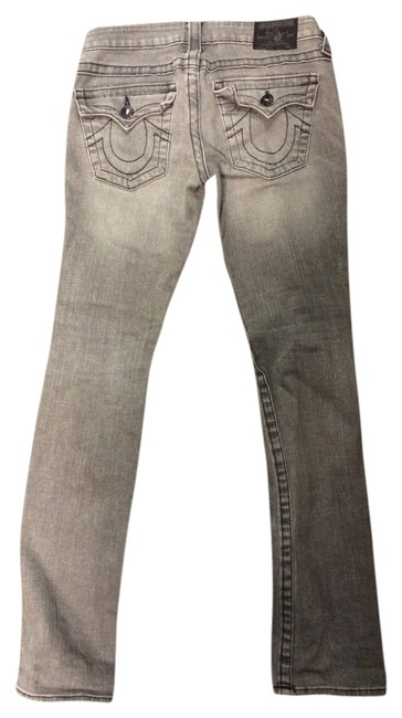 Item - Light Gray Wash Straight Leg Jeans Size 27 (4, S)