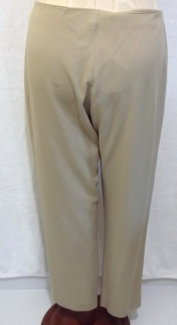 Cache Straight Pants Tan beige