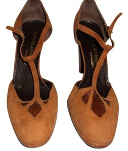 Charles Jourdan Brown Sandals