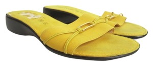 Damiani's Yellow Sandals