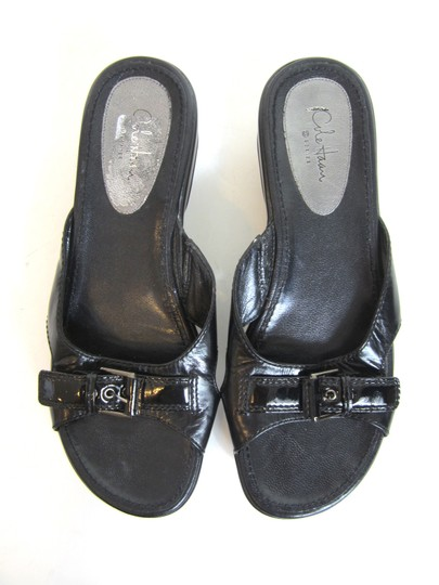 Cole Haan Black Platforms