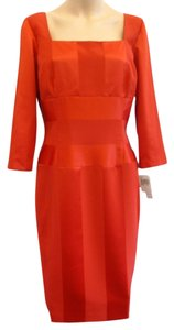 London Times short dress Red Office To Evening Daywear on Tradesy