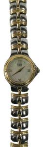 ESQ ESQ BY MOVADO LADIES GOLD SWISS PEARL FACE WATCH