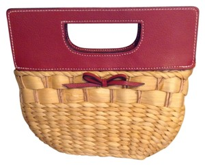 Liz Claiborne Summery Light Casual Red Clutch