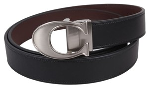 Coach coach LOGO C BUCKLE SMOOTH LEATHER CUT TO SIZE REVERSIBLE BELT (COACH F66108)