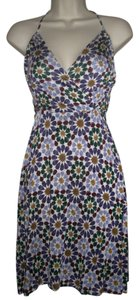 Nieves Lavi short dress Multi Circle Print on Tradesy