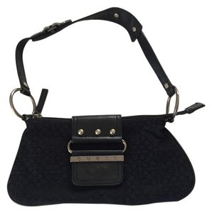 Guess Leather Clutch Baguette