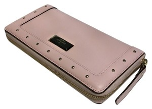 Kate Spade Neda Pink Wallet Leather Posy Pink Clutch