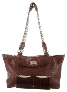 Chloé Tote in Dark Brown
