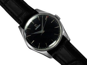 Omega 1958 Omega Classic Vintage Mens Dress Watch - Stainless Steel