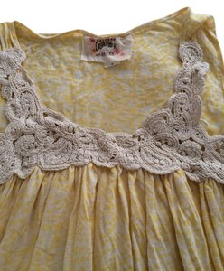 Debbie Miller short dress Yellow Summer on Tradesy