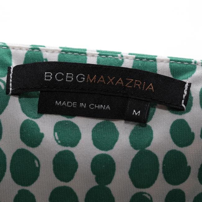 BCBGMAXAZRIA Sleeveless Spotted Brown Green Blue Top multicolor Image 4
